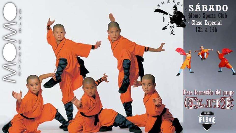 Cursos y clases de kung fu en momo sports club