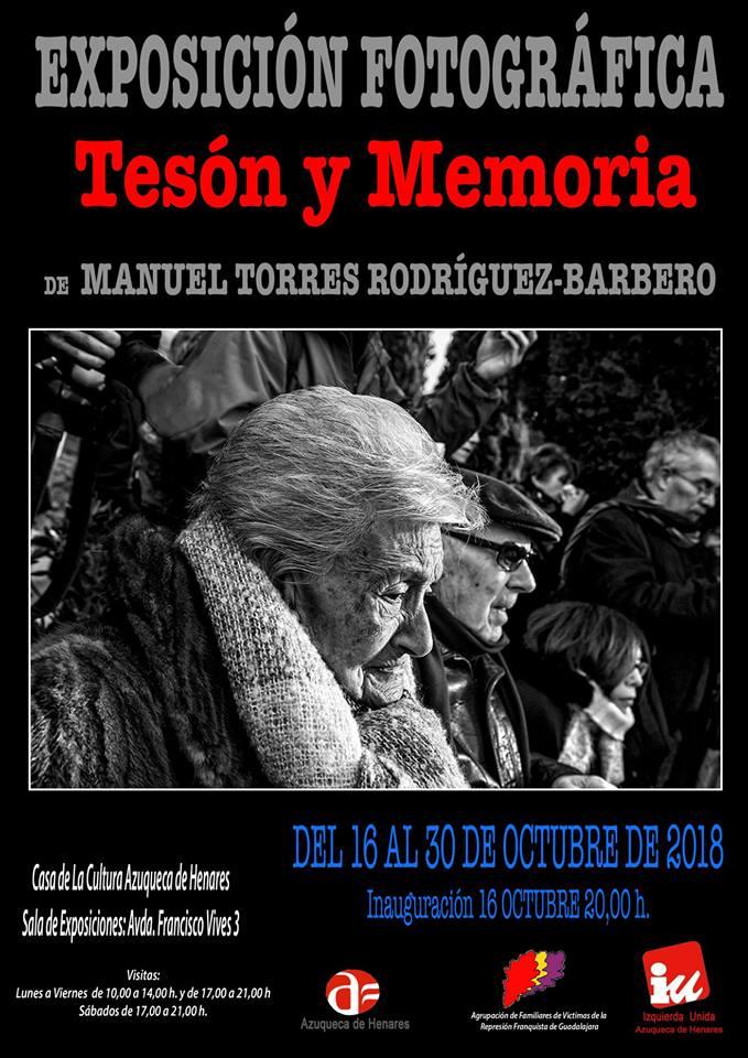 Exposición Fotográfica Tesón y Memoria