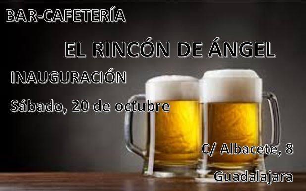 Inauguración Bar-Cafetería El Rincón de Ángel