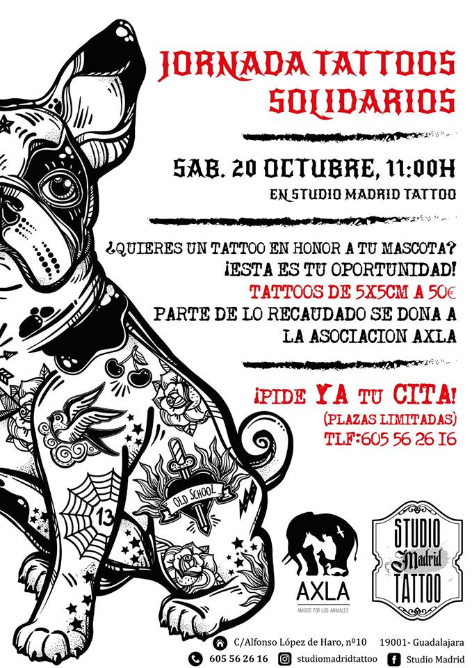 Jornada Tattoos Solidarios