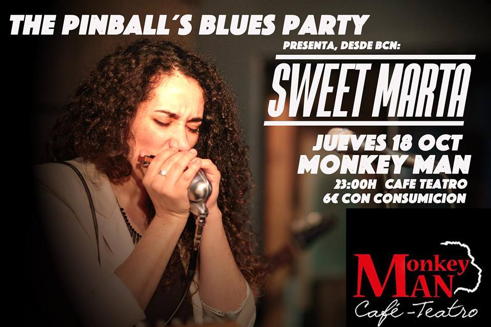 MARTA SUÑÉ con The Pinball's Blues Party