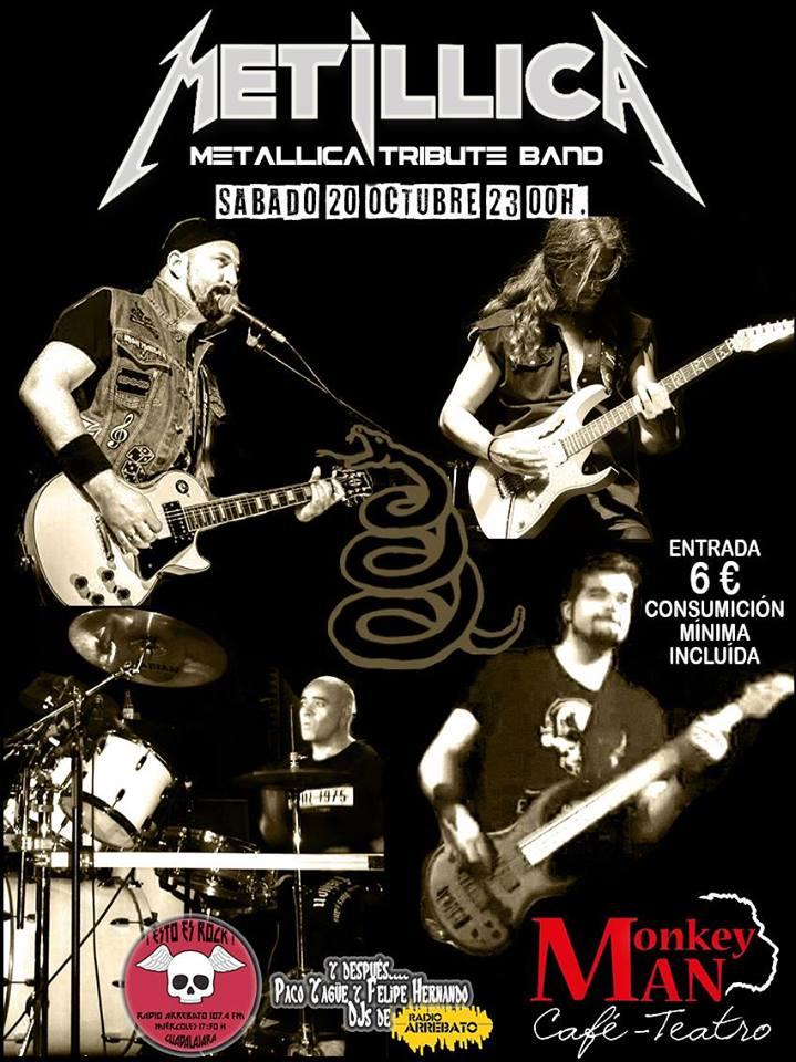 Metillica (Metallica Tribute Band) en concierto