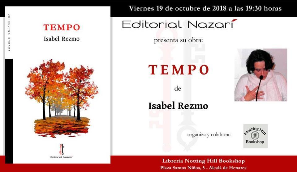 Presentación 'Tempo' de Isabel Rezmo en Alcalá de Henares