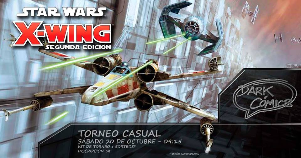 Torneo Casual Star Wars X-Wing 2.0