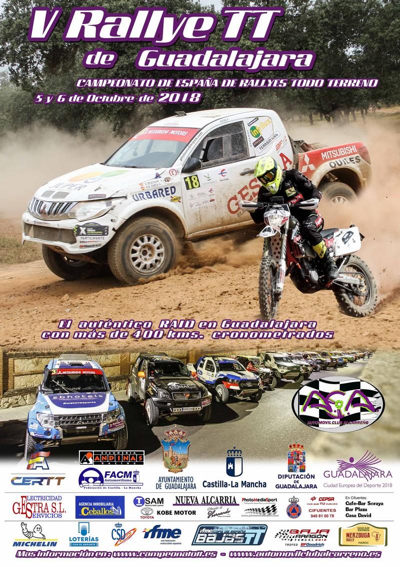 V Rally TT de Guadalajara 2018