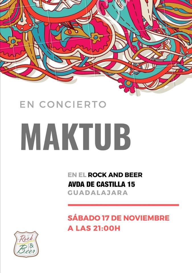 Maktub en concierto