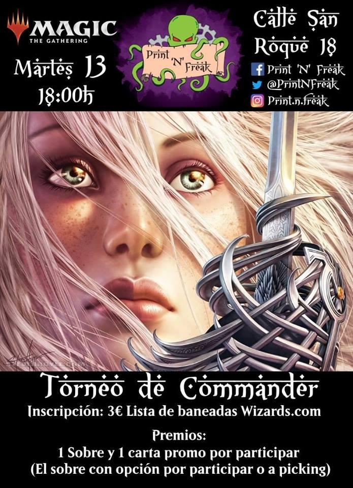 Torneo de Commander 1v1