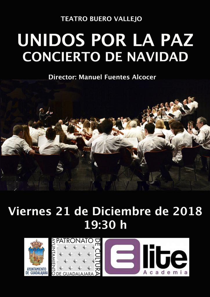 CONCIERTO NAVIDAD: UNIDOS POR LA PAZ Teatro Buero Vallejo