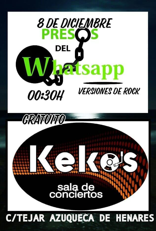 Concierto de presos del Whatsapp