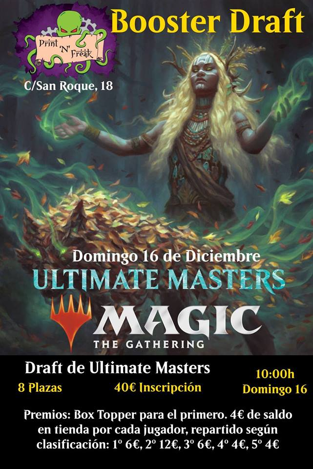 Draft de Ultimate Masters