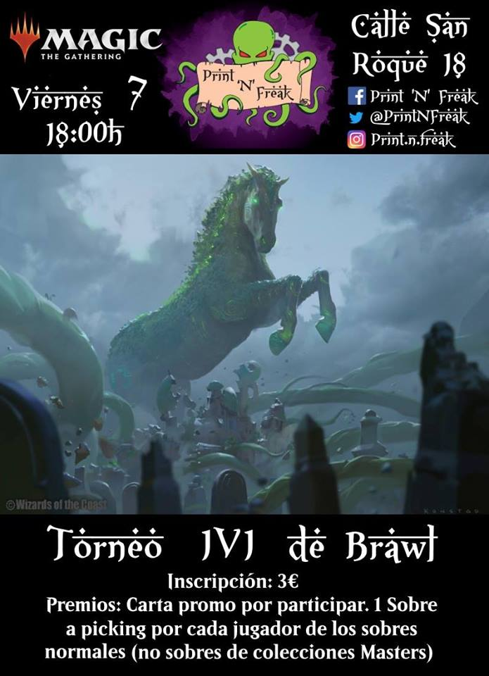 Friday Night Magic de Brawl 1v1