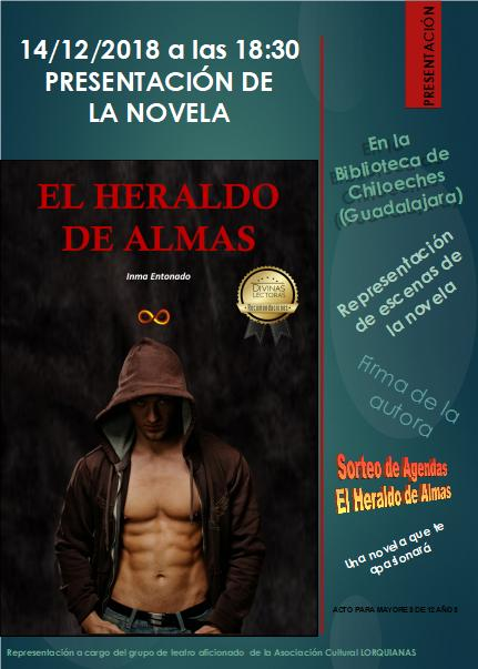 Presentación de la Novela El Heraldo de Almas