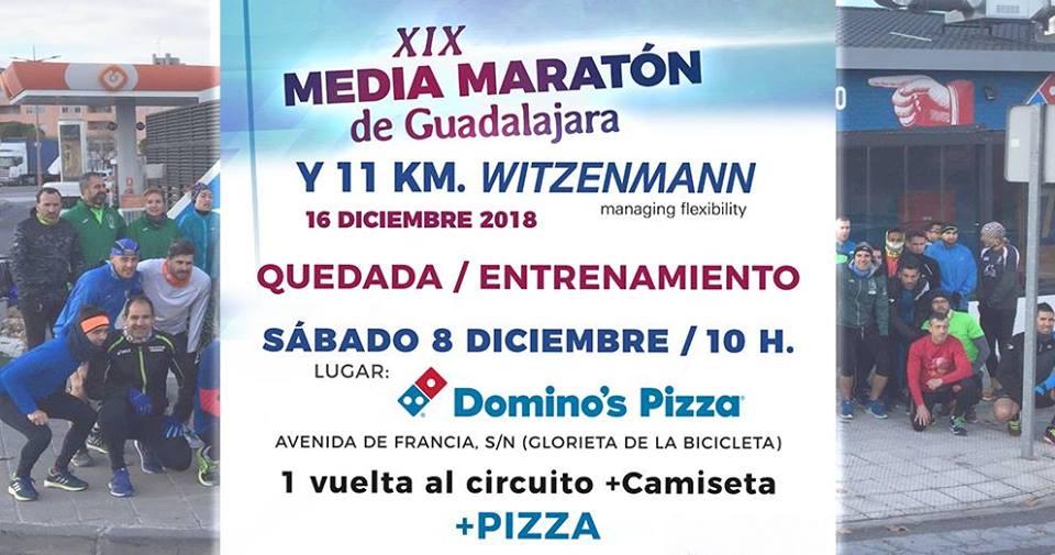 Quedada Media Maratón Guadalajara y 11 km. Witzenmann Española