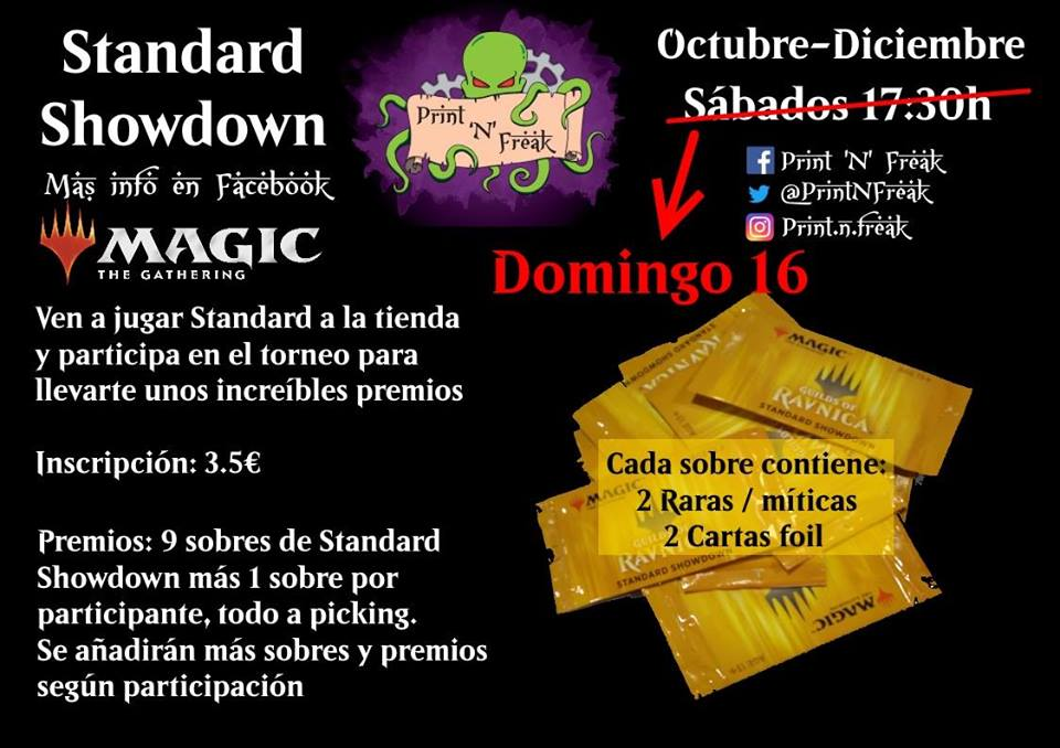 Standard Showdown de Ravnica