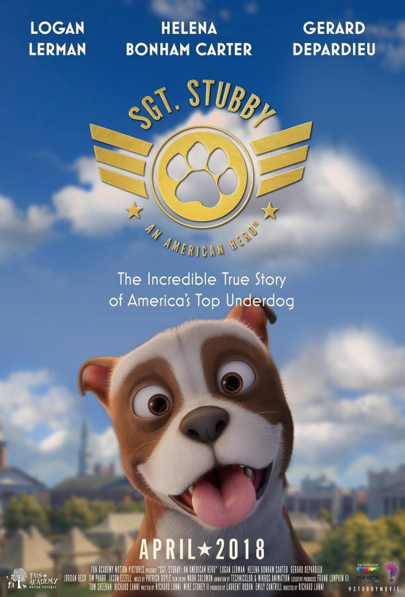 Stubby, un héroe muy especial Sala de Cine del EJE