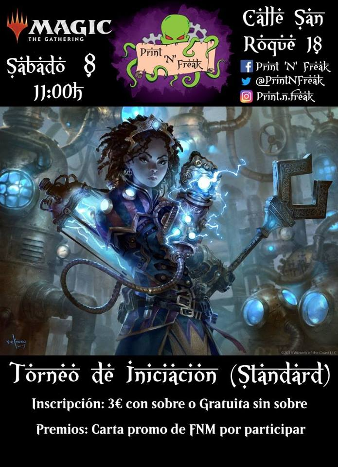 Torneo de iniciación a Magic