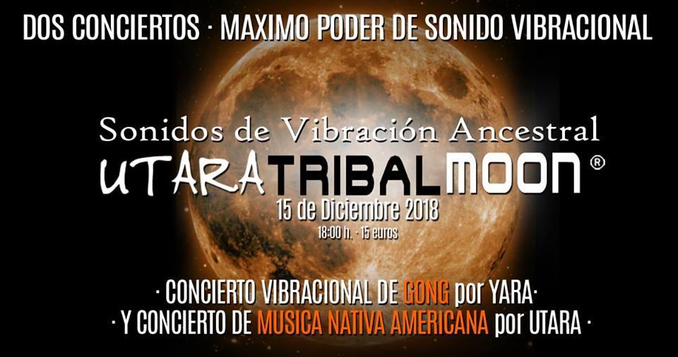 Utara Tribal Moon · Experiencia de Sonido Vibracional
