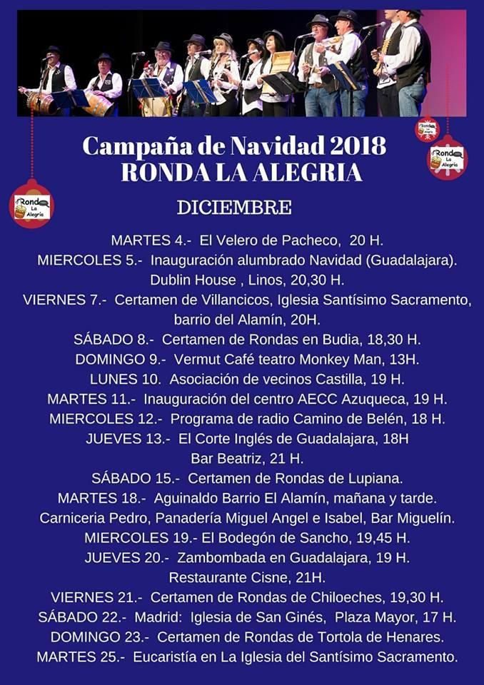 Campaña de Navidad 2018 RONDA LA ALEGRÍA