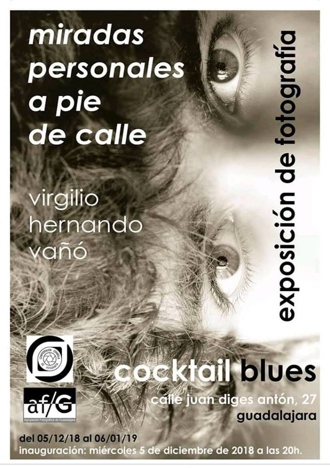 Virgilio Hernando expone en Cocktail Blues