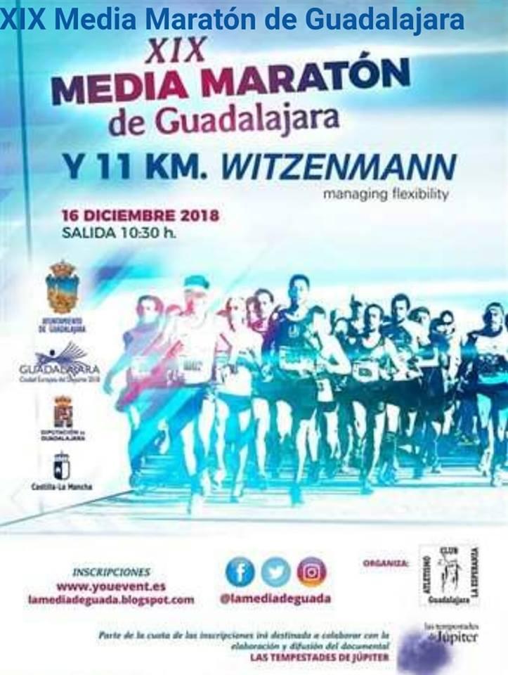 XIX Media Maratón y 11km de Guadalajara
