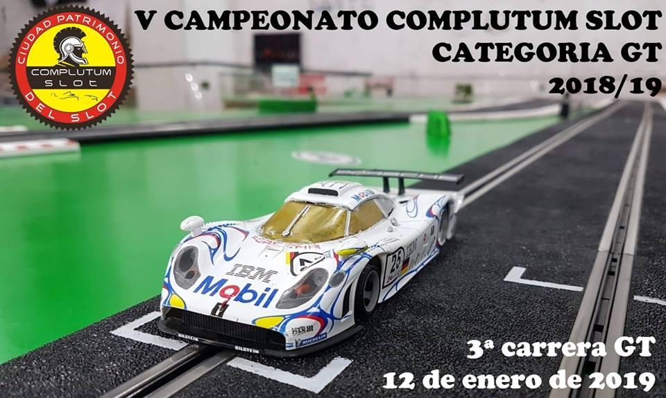 3ª Carrera GT V Campeonato Complutum Slot
