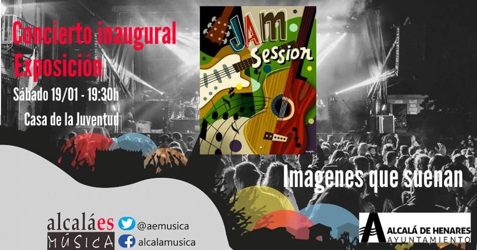 Concierto inaugracion exposición. Jam Session