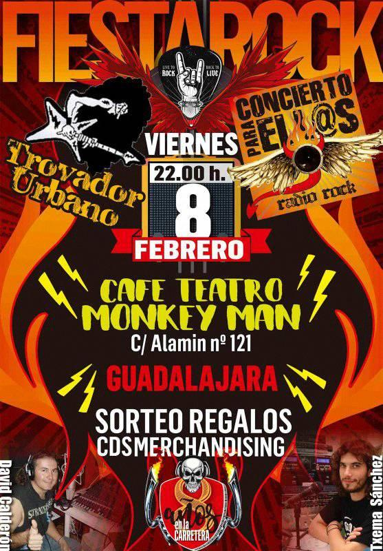Fiesta Trovador Urbano Concierto Para Ell@s en Guadalajara