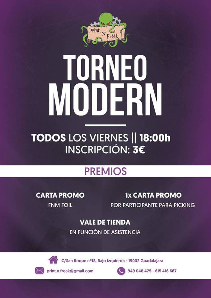 Friday Night Magic de Modern