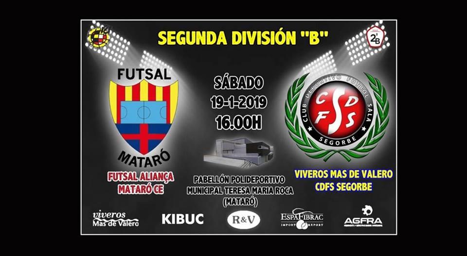Futsal Mataró vs Viveros