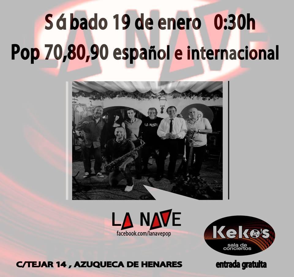 La NAVE en directo en KEKO'S