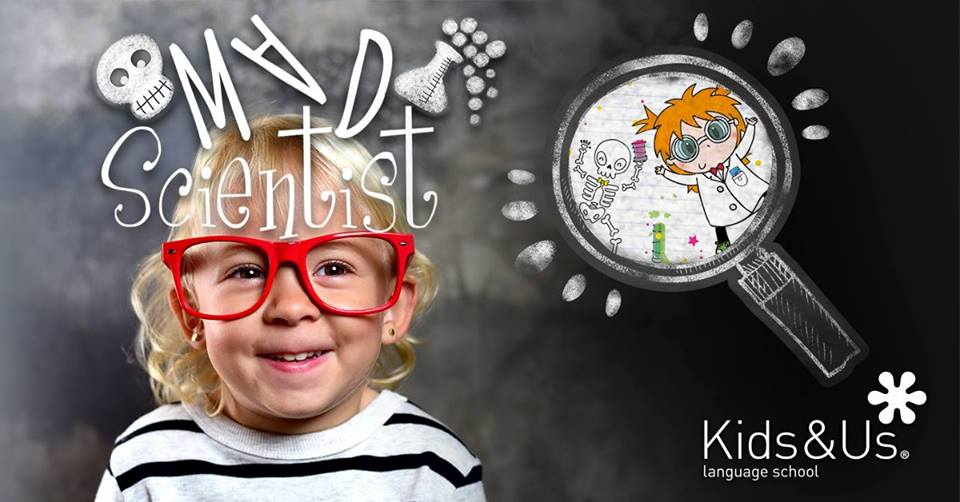 Taller de ciencias en inglés para niños de 3 a 10 años