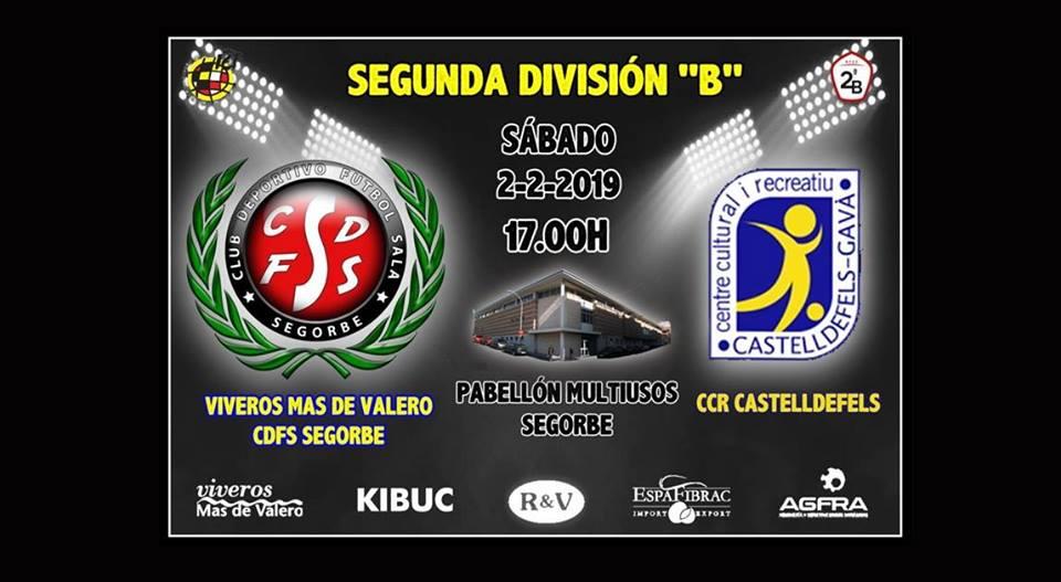 Viveros vs Club Esportiu CCR