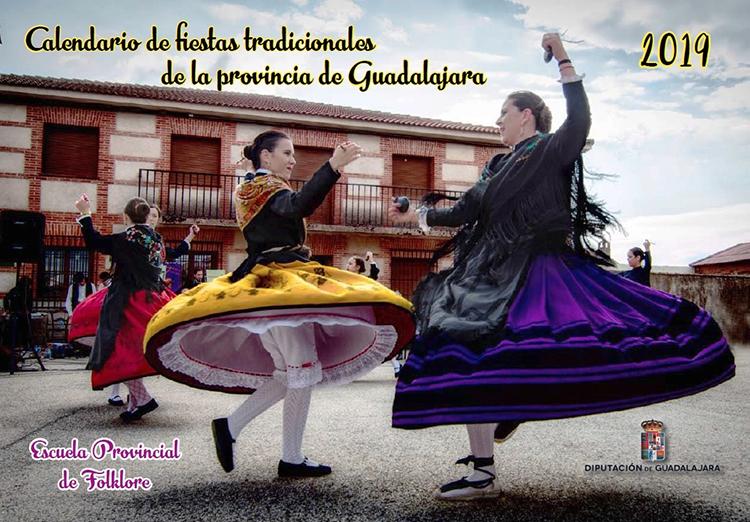 Calendario con el Programa de Fiestas Tradicionales de Guadalajara 2019