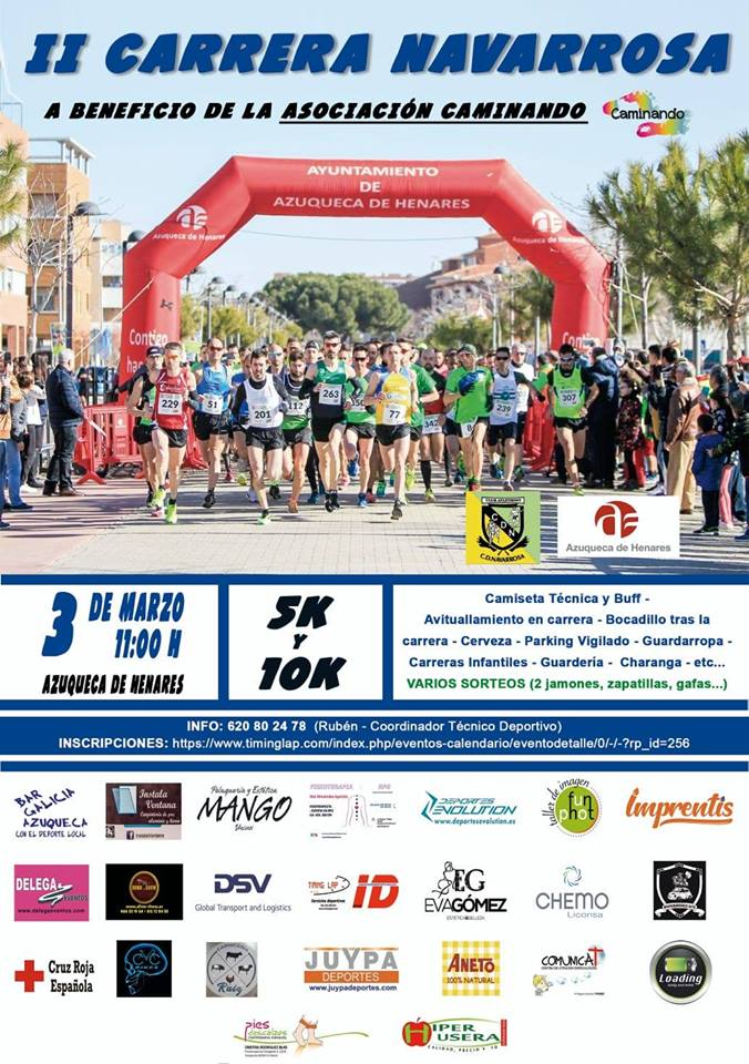 II Carrera Popular Solidaria Navarrosa