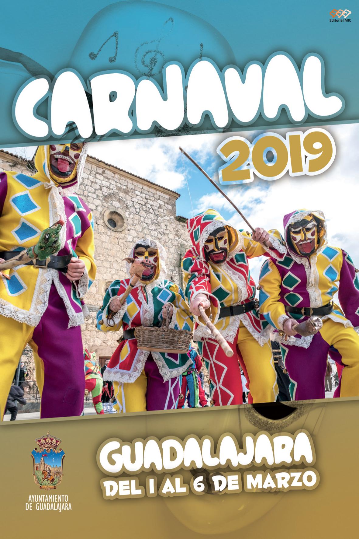 Programa Carnaval Guadalajara 2019