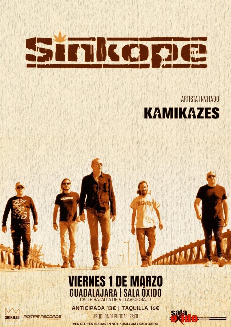 SINKOPE + Kamikazes Sala Oxido