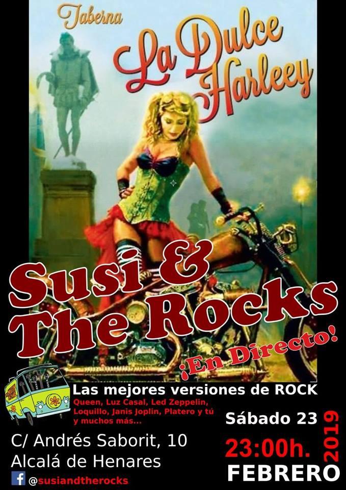 Susi & The Rocks en Taberna La Dulce Harleey