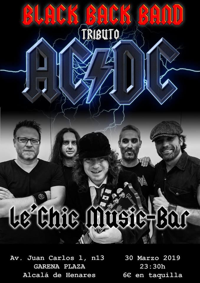 BLACK BACK BAND el mejor tributo AC/DC en concierto !!