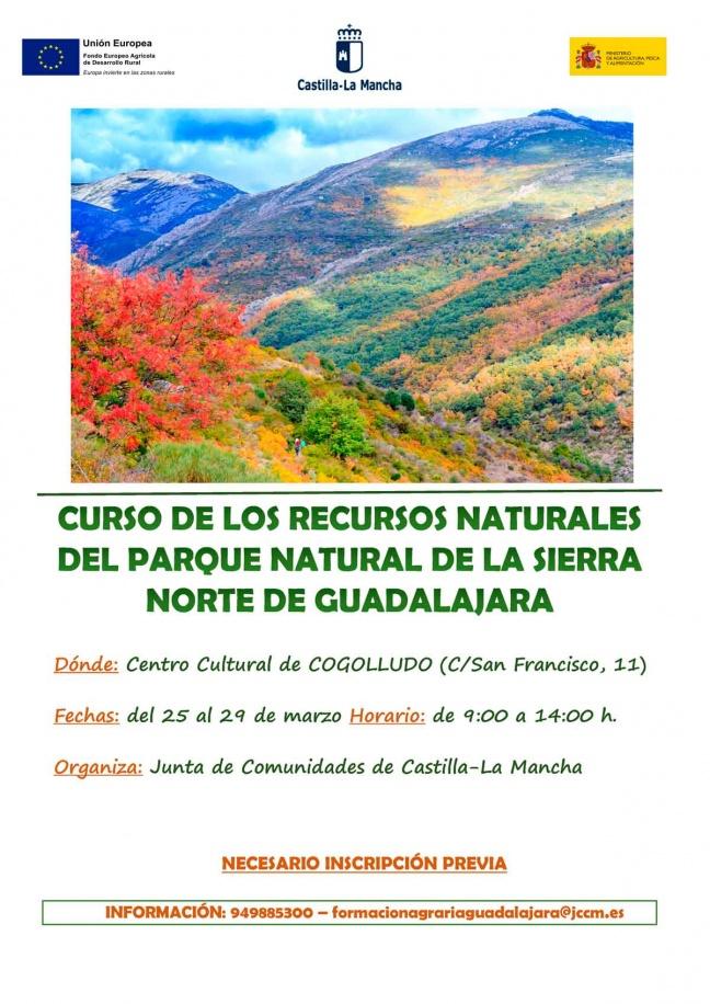Curso sobre los recursos naturales del parque natural de la sierra norte