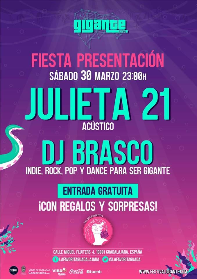 Fiesta de presentación #festivalGigante 2019