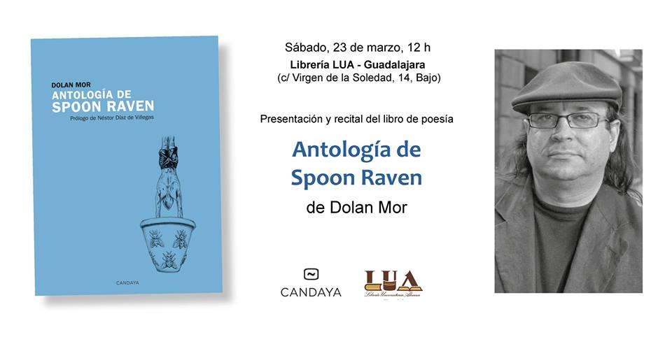 Presentación Antología de Spoon Rave, en Guadalajara