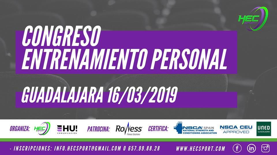 V Congreso Entrenamiento Personal Hecsport