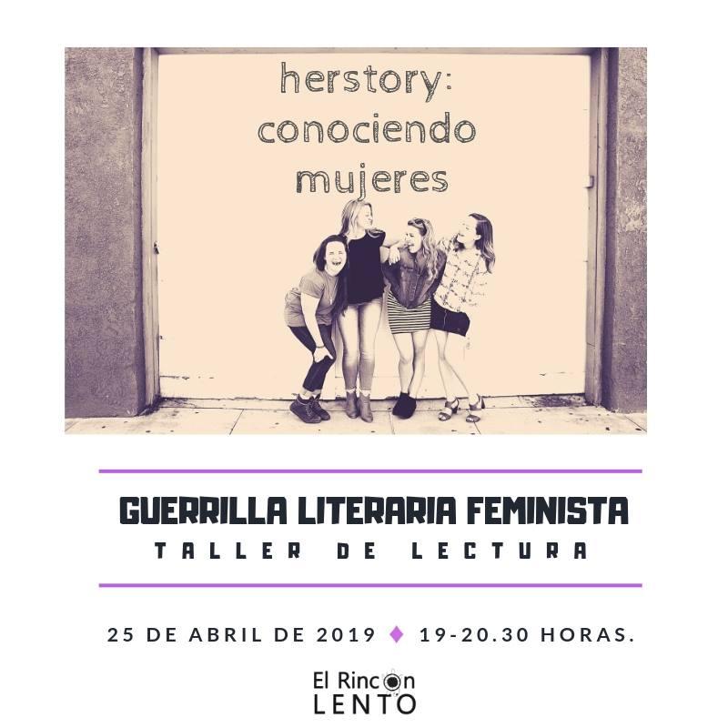 Taller de lectura feminista (mensual)