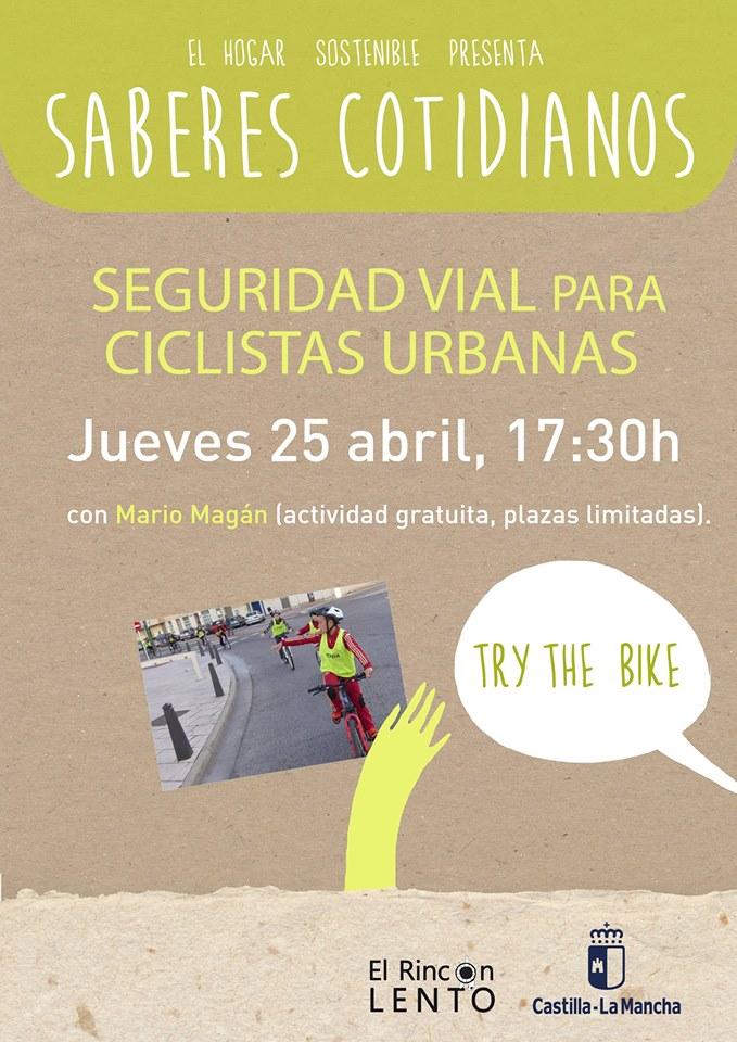 Taller de seguridad vial para ciclistas urbanas