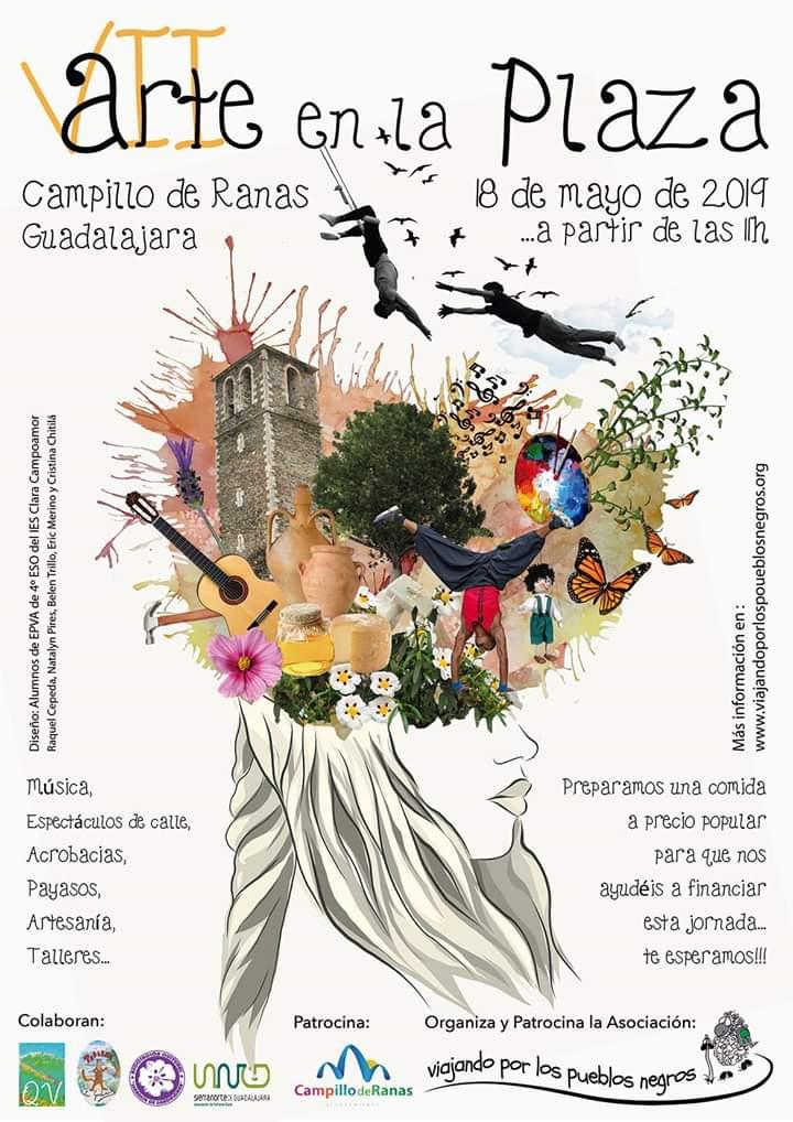 VII Arte en la Plaza en Campillo de Ranas