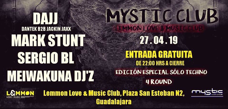 MYSTIC TECHNO CLUB ROUND 4 LEMMON LOVE & MUSIC CLUB
