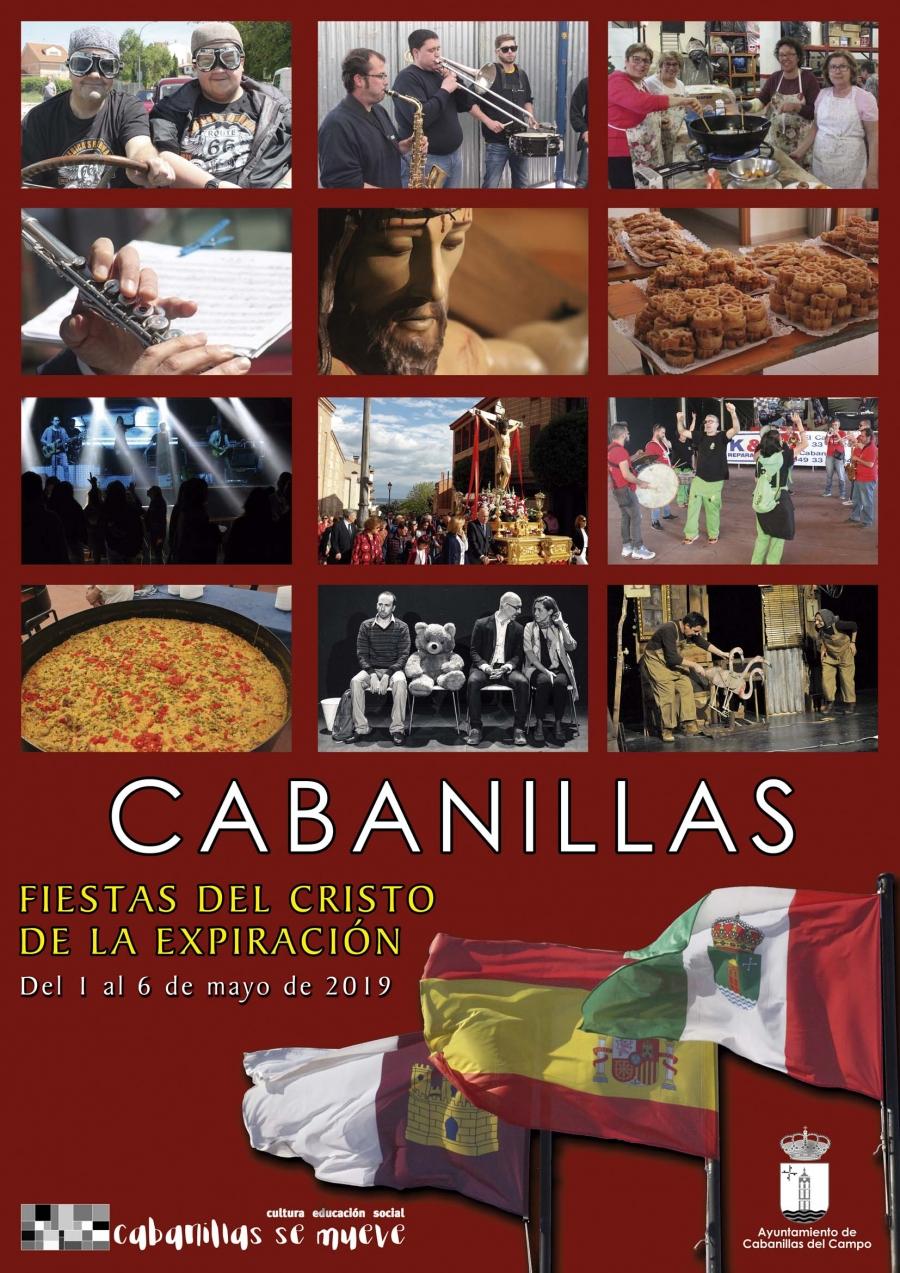 Programa de las Fiestas de mayo en Cabanillas