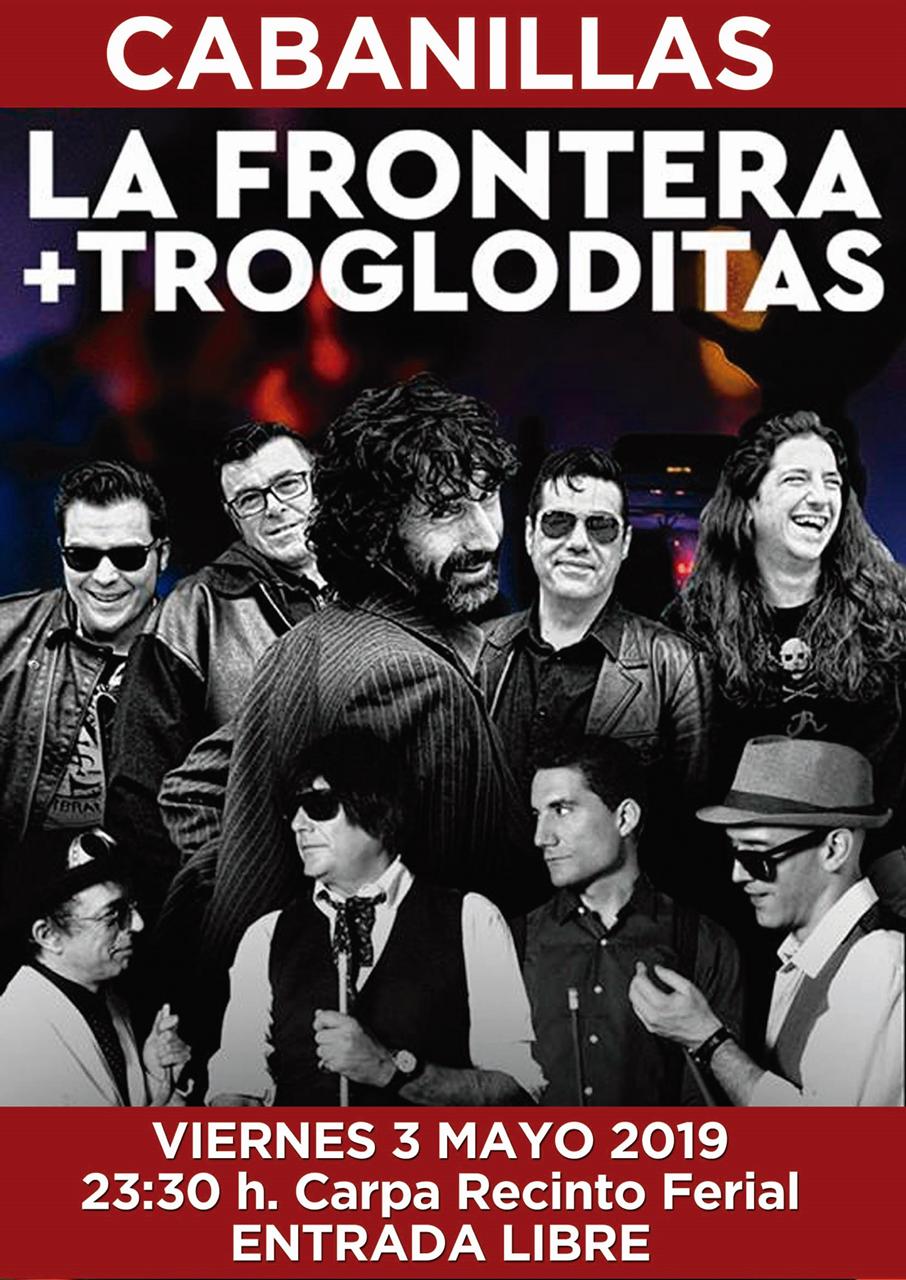 """Concierto de """"La Frontera"""" y """"Los trogloditas"""""""
