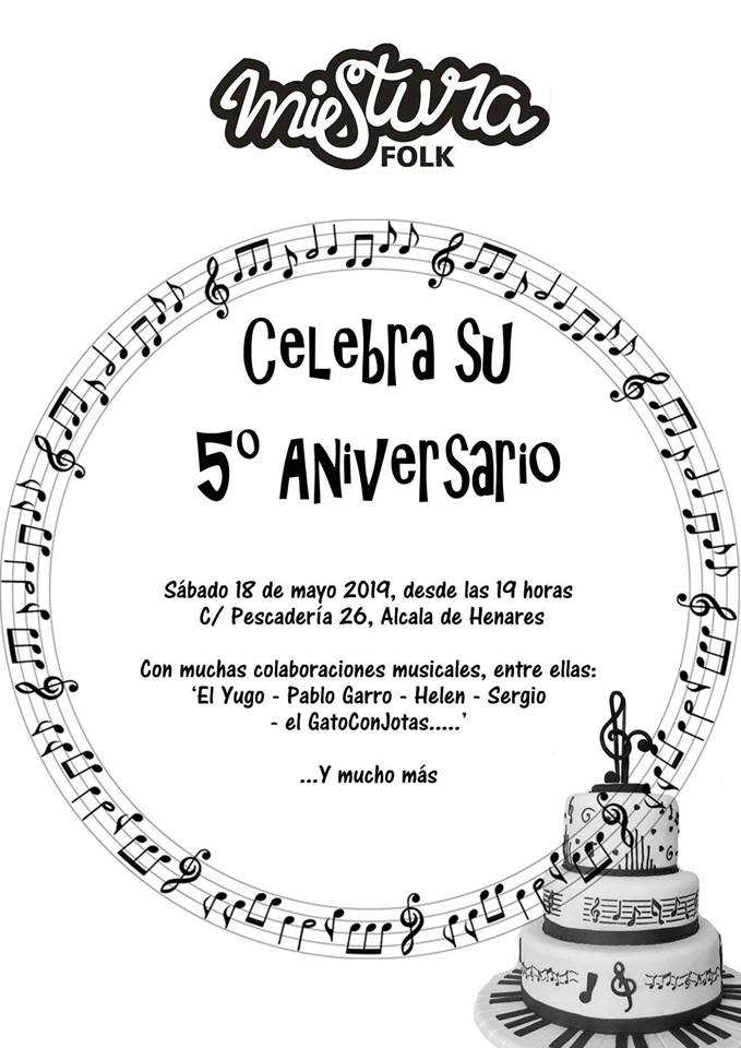 5º Aniversario Mistura FOLK