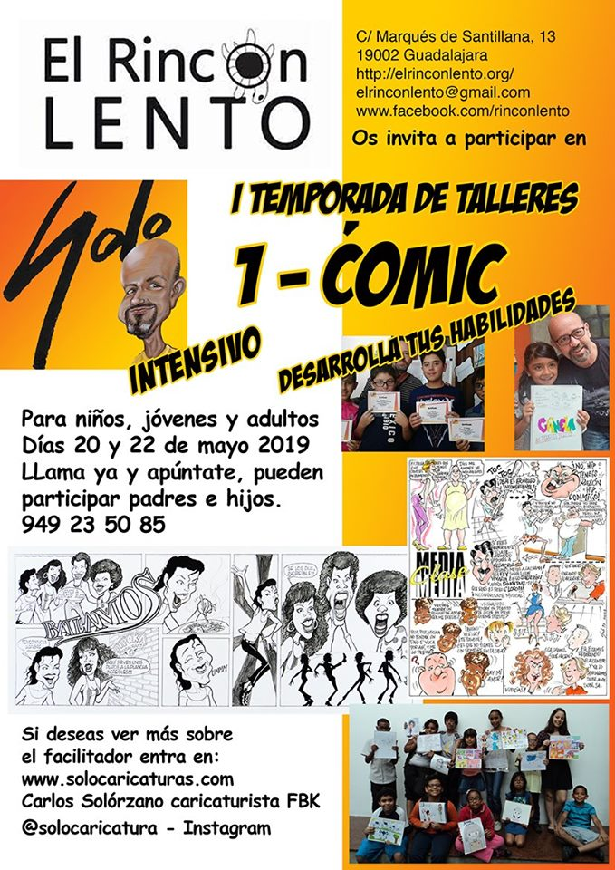 Taller de cómic intensivo